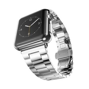 HOCO remienok Grand Series pre Apple Watch 42/44 mm - Silver