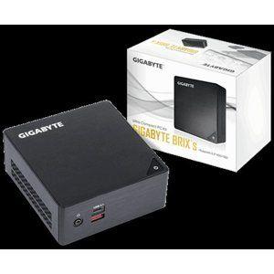 """Gigabyte Mini-PC Barebone BRIX GB-BKi3HA-7100, Intel® Core™ i3-7100U2.4GHz, Supports 2.5"""" HDD/SSD"""