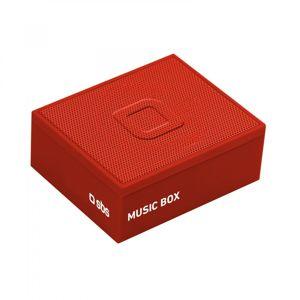 SBS - Bluetooth reproduktor Music Box, červená