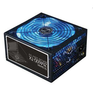 Zalman ATX Zdroj ZM600-TX, 600W, APFC, 140mm fan, 80+, black