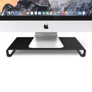 Satechi stojan Slim Monitor Stand - Black Aluminium