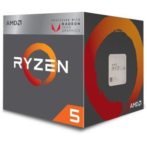 AMD Ryzen 5 2400G (3,6GHz / 6MB / 65W / RX Vega / Socket AM4) Wraith Spire Cooler