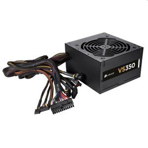 Corsair ATX zdroj, VS Series™ VS350, 350W, 120mm FAN, 80+, black