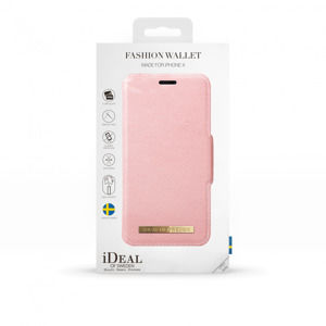 iDeal of Sweden - Puzdro Fashion Wallet pre Apple iPhone XS/X, ružová