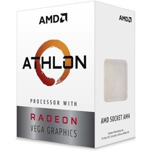 AMD Athlon  200GE (3,2GHz / 5MB / 35W / RX Vega / Socket AM4) Box