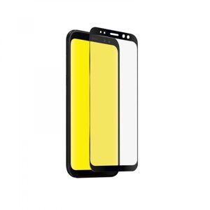 SBS - Tvrdené sklo Full Cover pre Samsung Galaxy A8 2018, čierna