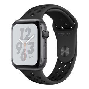 AppleWatch Nike+ Series 4 GPS, 44mm Space Grey Aluminium Case with Anthracite/Black Nike Sport Band