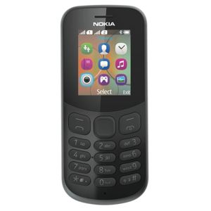 Nokia 130 Single Sim 2017 Black