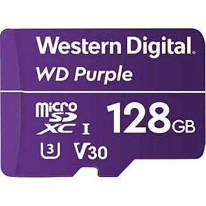 WD 128GB Purple microSDXC card Class 10 (80MB/50MB)