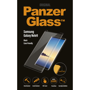 PanzerGlass - Tvrdené sklo Case Friendly pre Samsung Galaxy Note 9, čierna