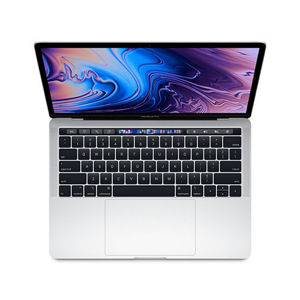 "APPLE MACBOOK PRO 13"" RETINA TOUCH BAR I5 2.3GHZ 4-CORE 8GB 256GB SILVER SK MR9U2SL/A"