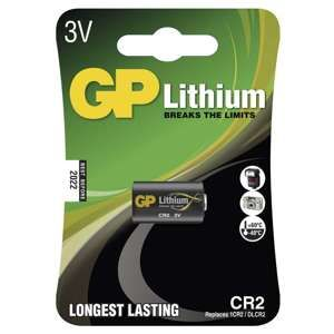 GP LITHIOVA FOTOBATERIA CR2, 1KS BLISTER, B1506
