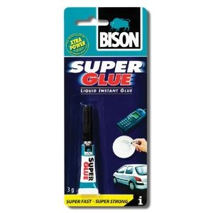 BISON SUPER GLUE LIQUID 3G BLISTER