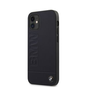 BMW BMHCP12SSLLNA LEATHER HOT STAMP  KRYT PRO IPHONE 12 MINI 5.4 NAVY