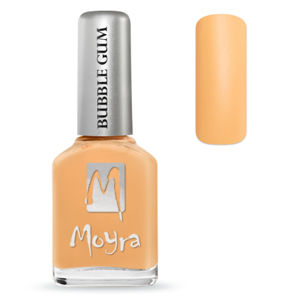MOYRA BUBBLE GUM EFFECT LAK NA NECHTY 623 TANGERINE 12 ML