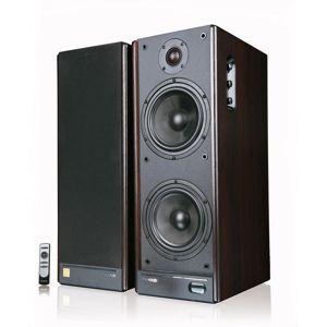 Microlab Solo9c stereo reproduktory 2.0, RMS 140W, MDF, tmavo hnedé + dialk.ovl.