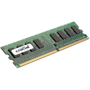Crucial 1GB DDR2 800MHz CL11 Unbuffered DIMM
