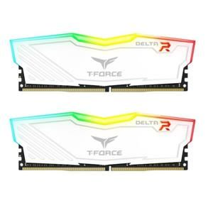 Team Group DDR4 8GB (2x4GB) T-Force Delta RGB DIMM 3000MHz CL16 biela