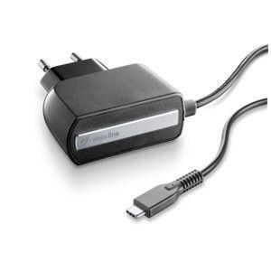 CELLULARLINE ACHTYPECK CESTOVNA NABIJACKA S KONEKTOROM USB-C, 2,1 A/5V, CIERNA