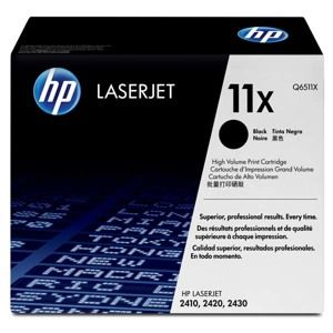 HP originál toner Q6511X, black, 12000str., HP 11X, high capacity, HP LaserJet 2400, 2410, 2420, 2430