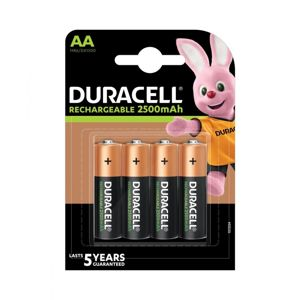 DURACELL RECHARGE AA 4K 2500