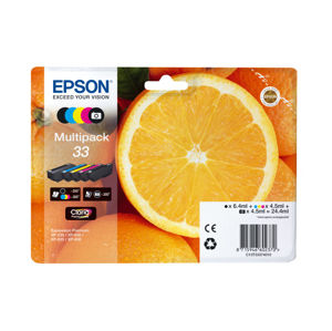 EPSON MULTIPACK 5-COLOURS 33 CLARIA PREMIUM INK, C13T33374011