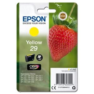 EPSON SINGLEPACK YELLOW 29 CLARIA HOME INK, C13T29844012