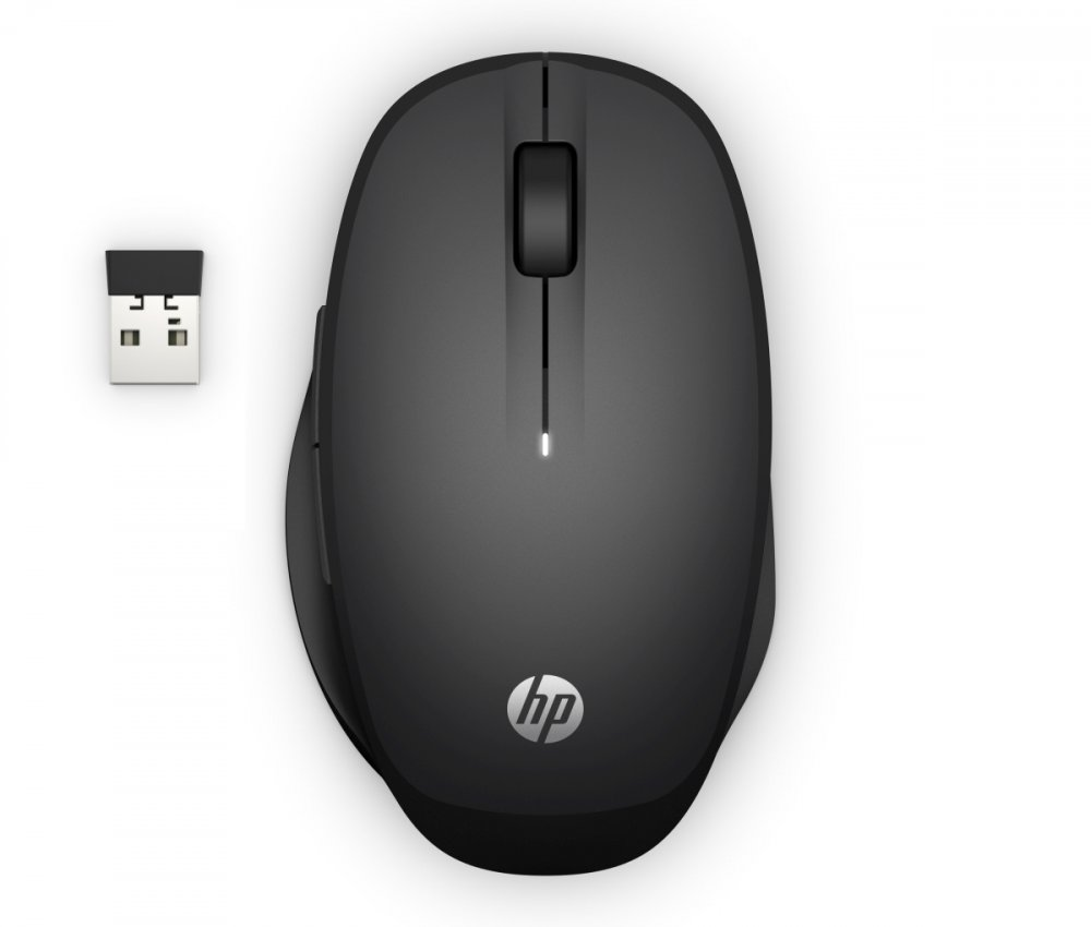 HP Dual Mode Mouse 300 - Black