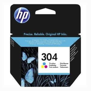 HP 304 ORIGINAL ATRAMENT N9K05AE, TRI-COLOR, 100 STRAN