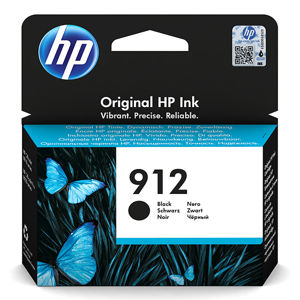 HP ORIGINAL INK 3YL80AE, HP 912, BLACK, 300STR., HIGH CAPACITY, HP OFFICEJET 8012, 8013, 8014, 8015