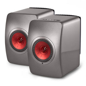 KEF LS 50 WIRELESS TITANIUM GREY