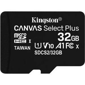 KINGSTON MICROSDHC 32GB A1 CL10 100MB/S BEZ ADAPTERU