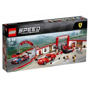LEGO SPEED CHAMPIONS UZASNA GARAZ FERRARI /75889/