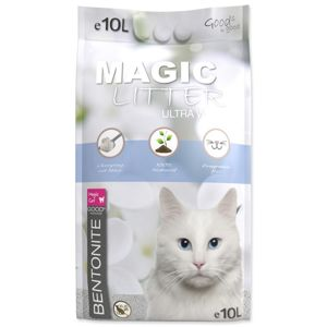 MAGIC CAT LITTER KOCKOLIT BENTONITE ULTRA WHITE (10L)