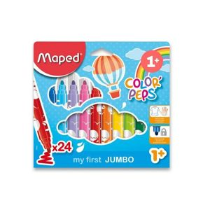 MAPED FIXKY COLOR  PEPS EARLY AGE JUMBO 24 KS