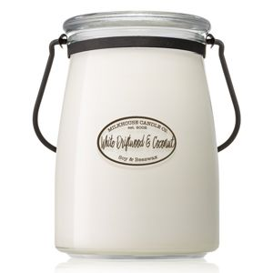 MILKHOUSE CANDLE WHITE DRIFTWOOD & COCONUT VONNA SVIECKA BUTTER JAR 624G, 29606