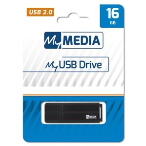 16GB USB Flash 2.0 MyUSB Drive černý, My Media