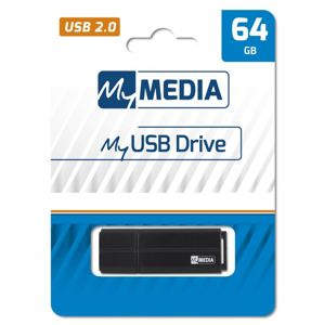 64GB USB Flash 2.0 MyUSB Drive černý, My Media