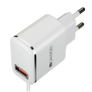 NABIJACKA DO SIETE CANYON 1x USB, LIGHTNING KABEL 1M