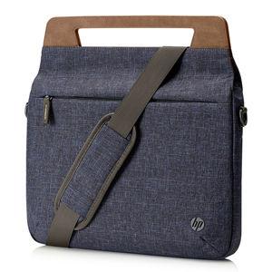 "Taška na notebook 14"", HP Renew Navy Brief Case, navy blue z polyesteru, HP"