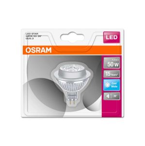 OSRAM LED STAR MR16 50 NON-DIM 36 7,2W/840 GU5.3