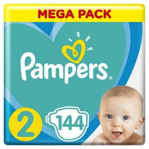 PAMPERS ACTIVE BABY MP S2 144KS