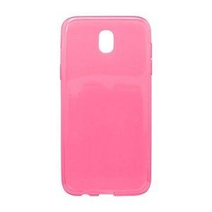 Gumené puzdro Samsung Galaxy J5 2017 ružové, nelepivé