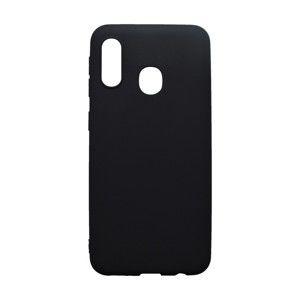 Matné gumené puzdro Samsung Galaxy A20e čierne