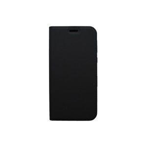 Knižkové puzdro Metacase Moto E5 Play čierne