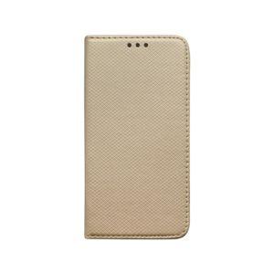 Knižkové puzdro iPhone 11 zlaté, vzorované