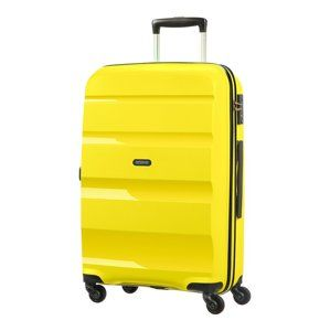 SAMSONITE AMERICAN TOURISTER SPINNER 85A06002 BONAIR M 4WHEELS LUGGAGE, YELLOW