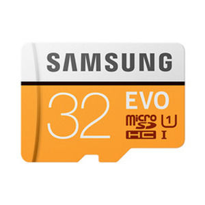 SAMSUNG MICROSDHC KARTA SAMSUNG EVO PLUS + ADAPTER MB-MP32GA