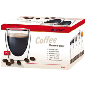 SCANPART COFFEE THERMO GLASS 175ML