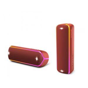 Sony SRS-XB32 přenosný bezdrátový reproduktor NFC, Bluetooth® a Extra Bass™, červený